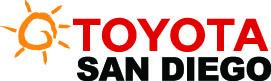 Toyota San Diego Logo Vertical