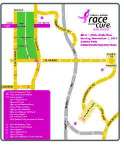 15 SD RFC course map w-1mile - revised 4.6.15