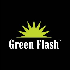 green flash logo primary spot color