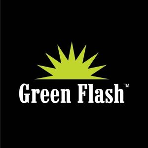 green flash logo primary spot color