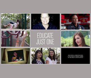 video-educate-just-one