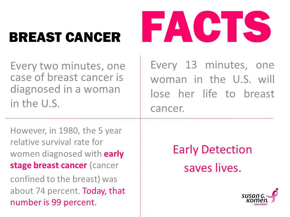 breast cancer facts susan g komen san diego breast cancer facts 30479