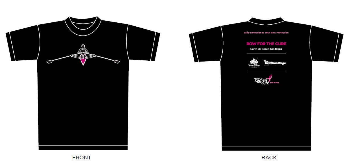 Row for the Cure T_Shirts