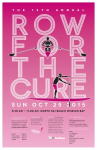 SGK Row for the Cure poster 2015