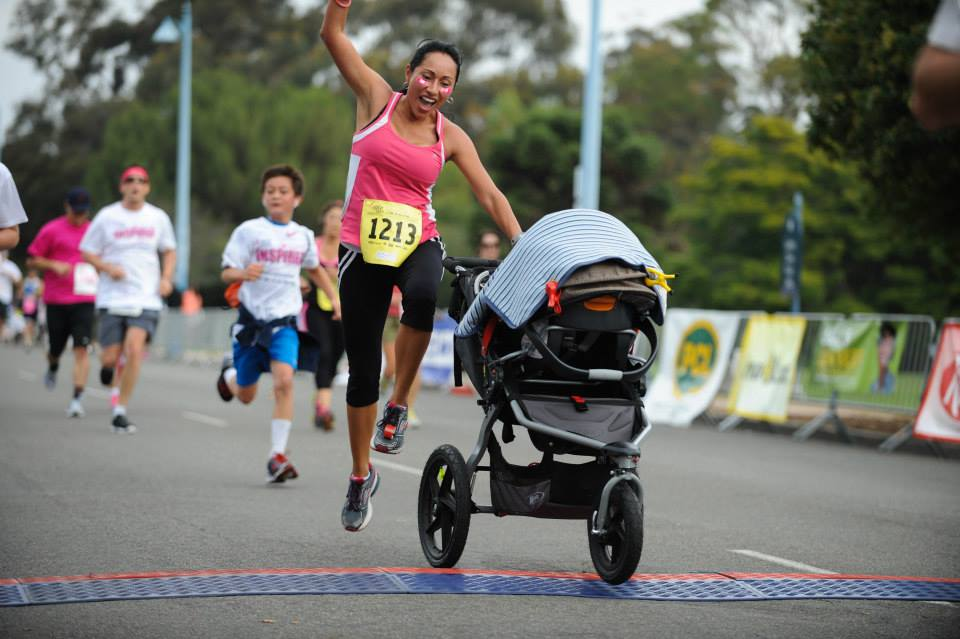 mom race photo