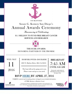 Award Ceremony Invitation