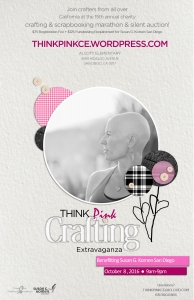 poster think pink 2016