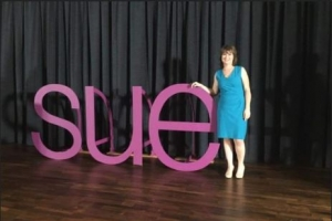 sue talks