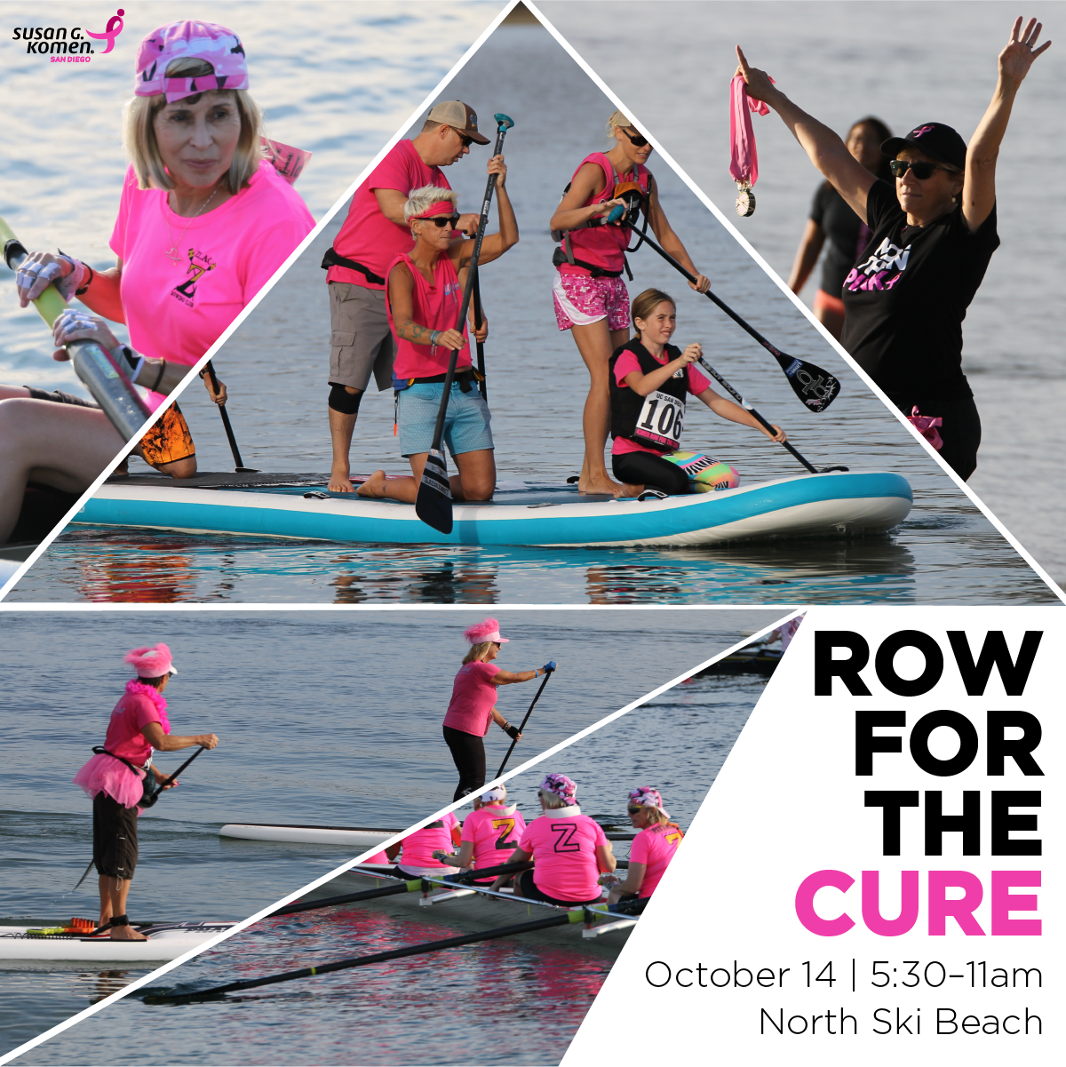 Row for the Cure 2017
