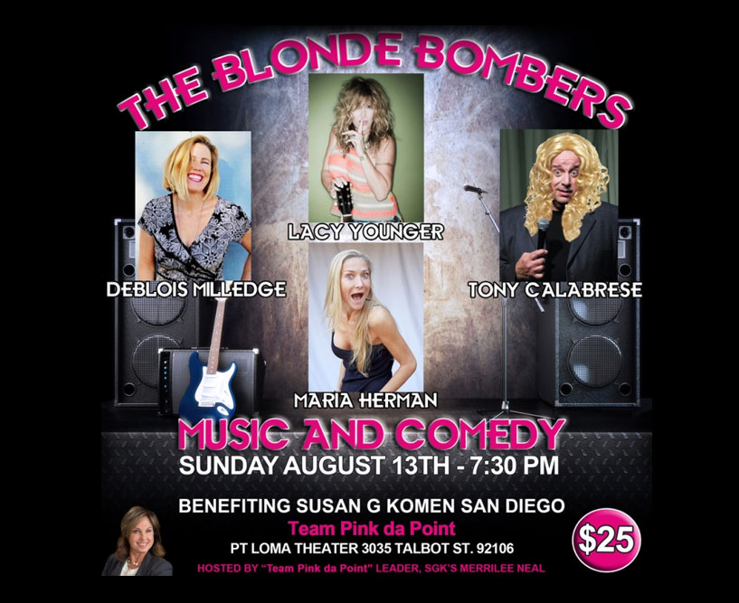 The Blonde Bombers Music and Comedy