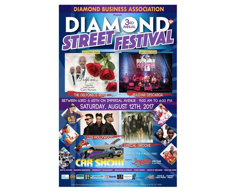 3rd Annual Diamond Street Festival