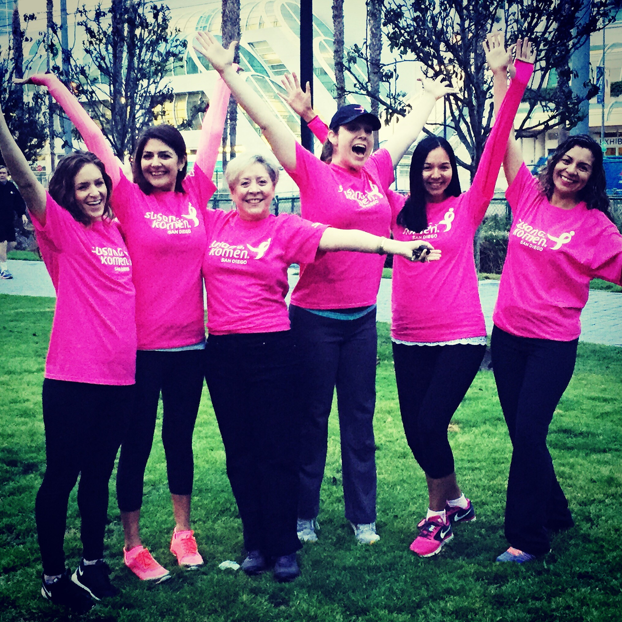 Race for the Cure Training Walk with Laura Farmer Sherman