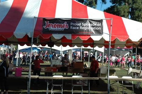 Race for the Cure Packet Pickup at Jerome's San Marcos