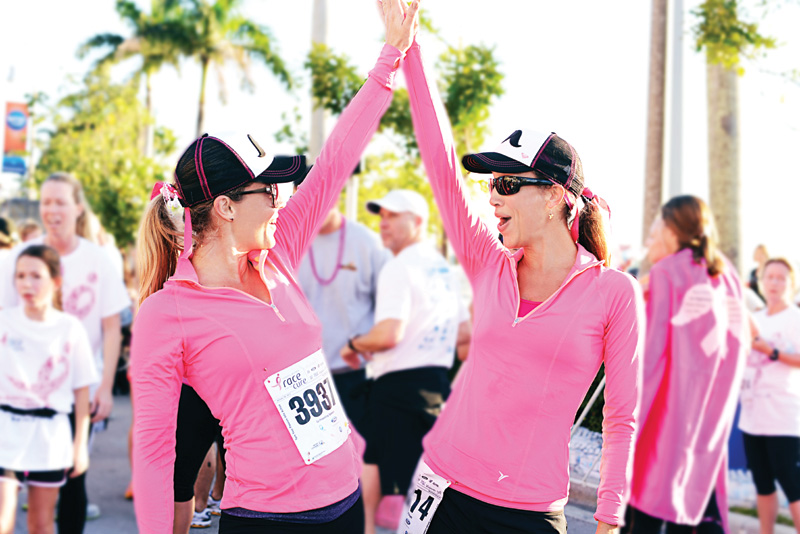 Pre-Registration Race for the Cure Rally