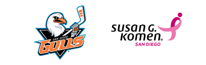 San Diego Gulls Pink in the Rink