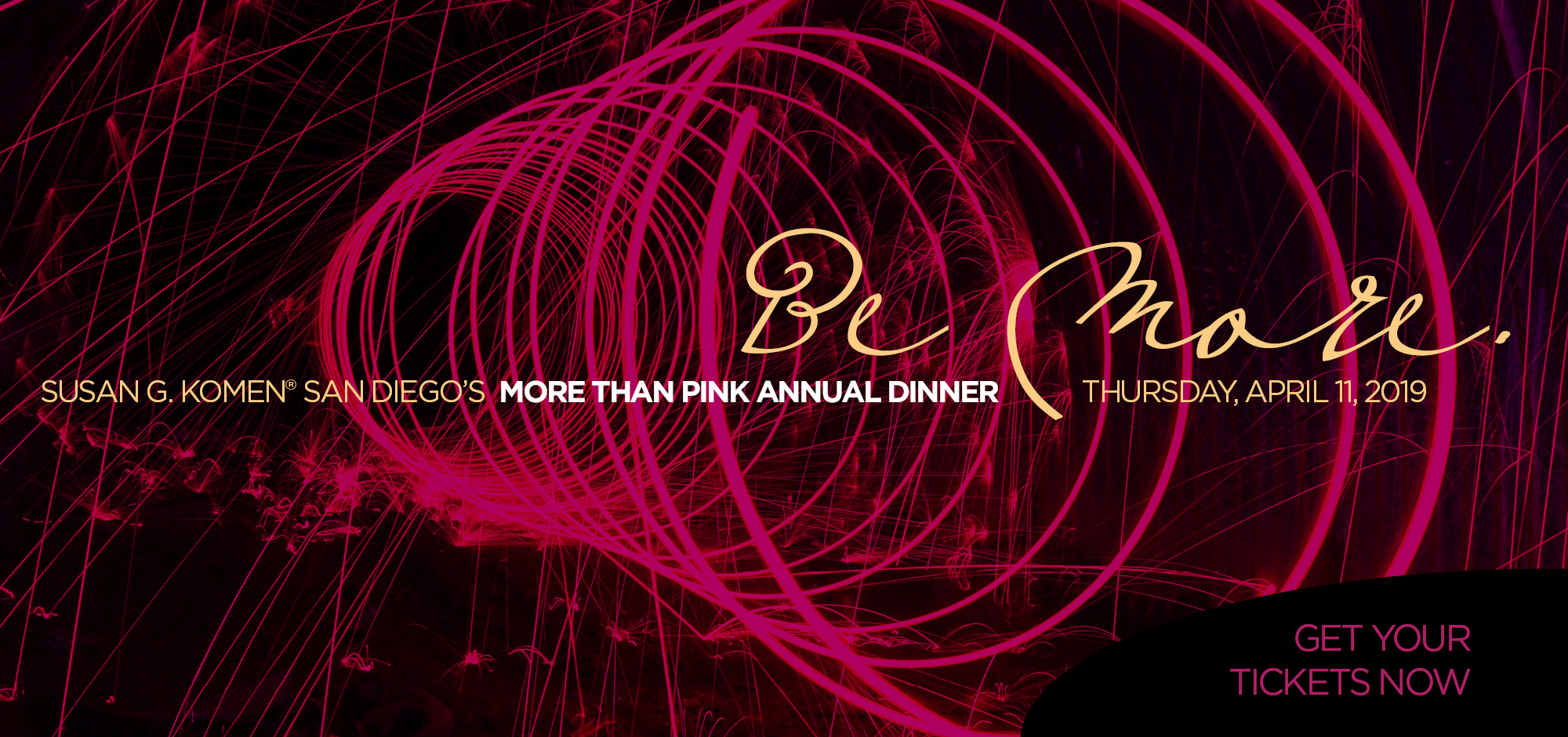More Than Pink Annual Dinner