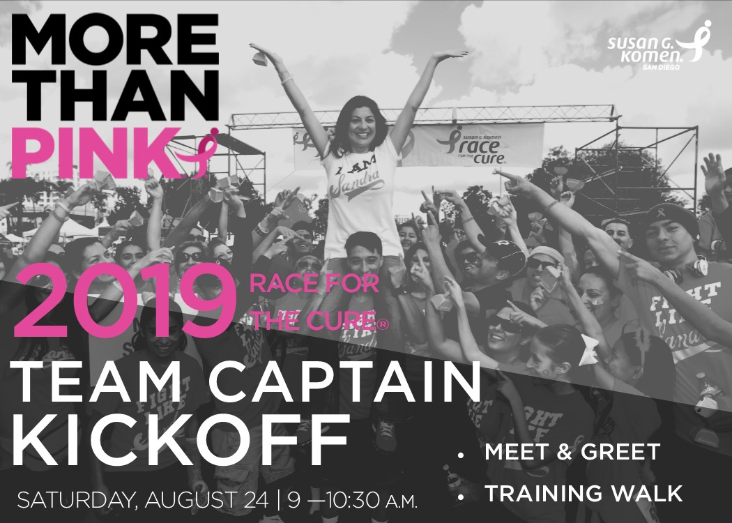 Race for the Cure Team Captain Kickoff