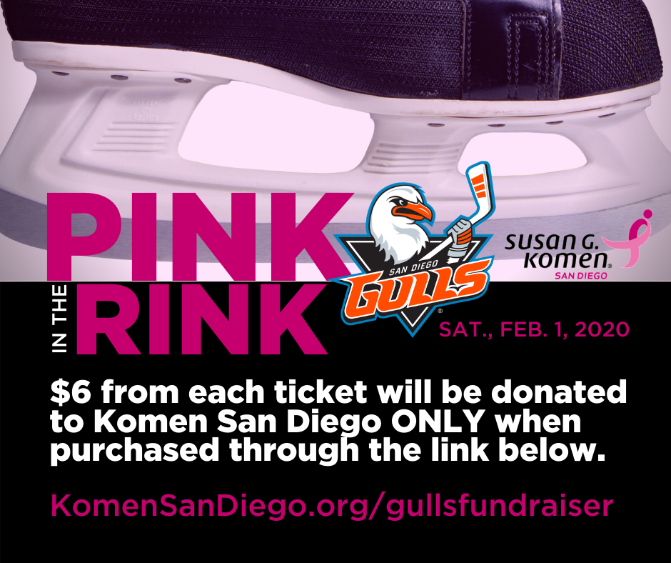Pink in the Rink: San Diego Gulls vs Ontario Reign