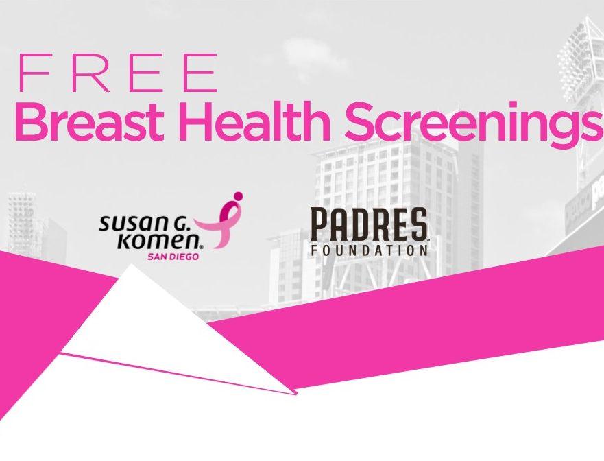POSTPONED – Free Breast Health Screenings at Petco Park