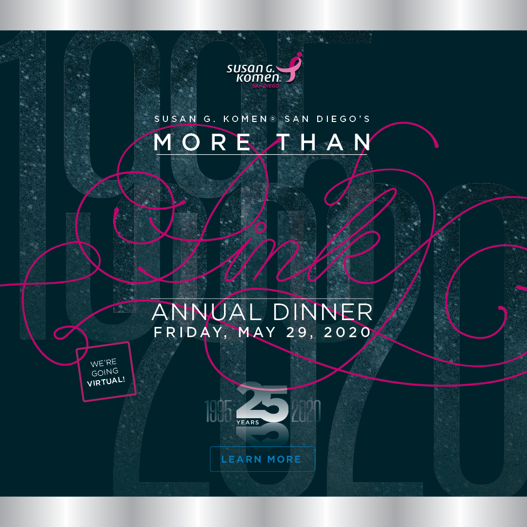 Virtual More Than Pink Annual Dinner