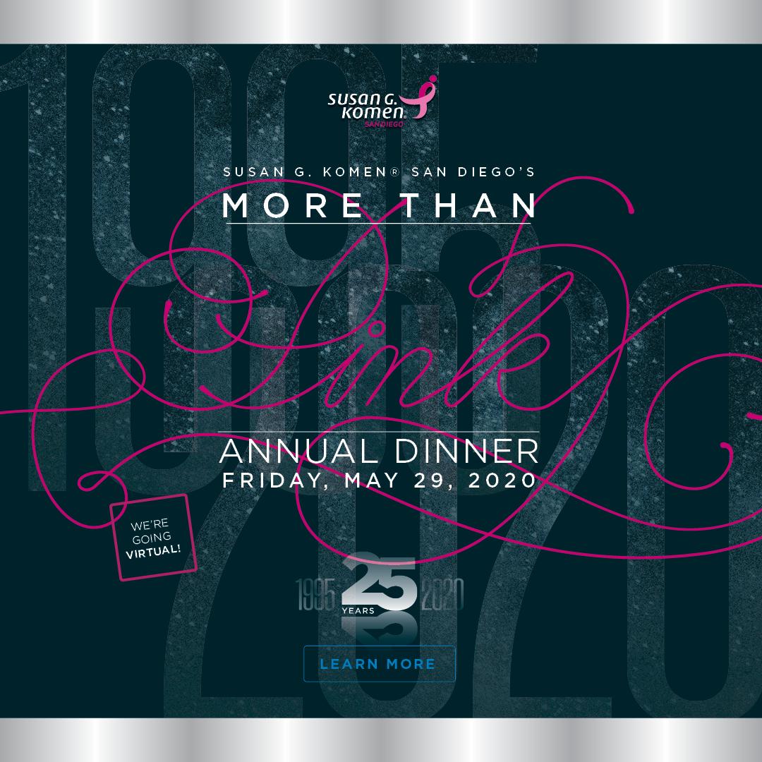 Virtual More Than Pink Annual Dinner